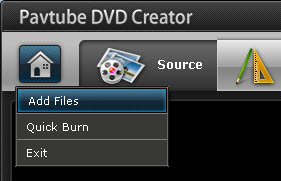 add files How to Convert and Burn Canon Video to DVD