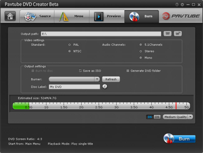 dvd creator burn How to Convert and Burn Canon Video to DVD