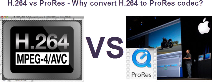 Best ProRes Converter: Convert H.264 footage to ProRes for FCP X H264-vs-prores-codec