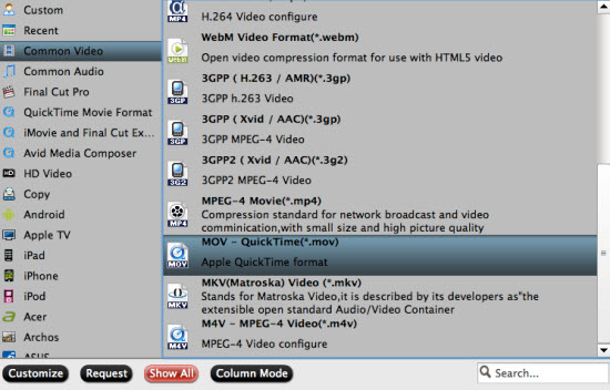 mov to quicktime settings Watch Canon HF G20/G10 AVCHD file with QuickTime Player on Mac