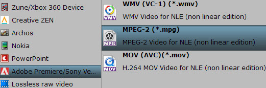 adobe mpeg 2 Two Ways to Import Canon XF100 MXF to Premiere Pro CS6 for editing on Mac