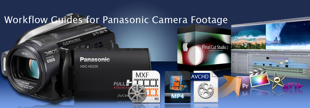 Panasonic Column – Encode Panasonic 1080p Videos to FCP, FCP