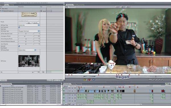 Final Cut Pro X and 3D AVCHD: Can FCP X process Sony 3D DEV