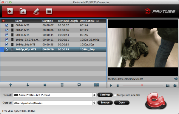 M2T files and FCP (X)-Transcode M2T footage to ProRes MOV