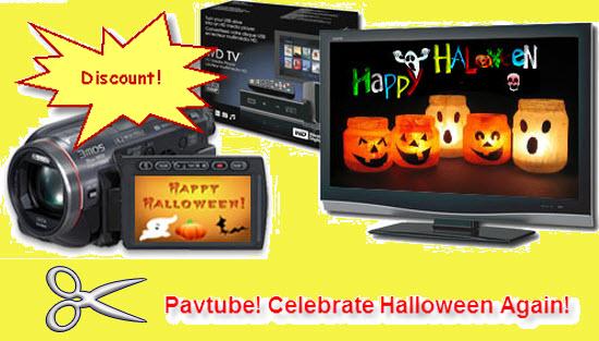 halloween videos wd tv hdtv Again Celebration of Halloween Converters Promotion by Pavtube Studio!