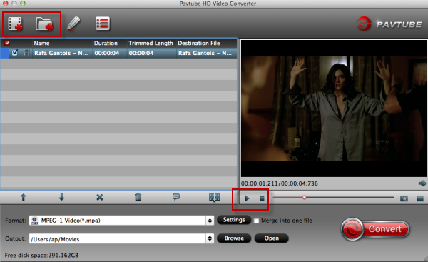 Convert Sony A7II XAVC S to MOV/AVI/MPEG-2/WMV/DNxHD/AIC on PC/Mac  Load-files